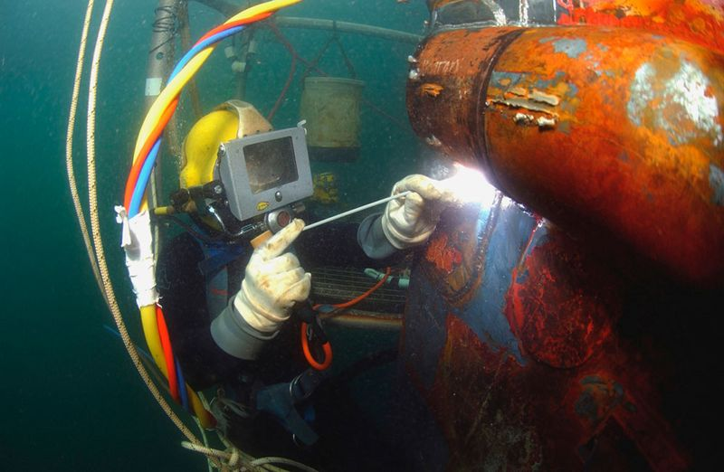 Underwater welding - GSI SLV